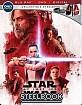 Star Wars: The Last Jedi - Best Buy Exclusive Steelbook (Blu-ray + Bonus Blu-ray + DVD + UV Copy) (US Import ohne dt. Ton) Blu-ray