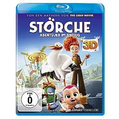 Störche - Abenteuer im Anflug 3D (Blu-ray 3D + Blu-ray + UV Copy) Blu-ray