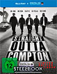 Straight Outta Compton - Kinofassung und Director's Cut (Limited Edition Steelbook) (Blu-ray + UV Copy) Blu-ray
