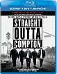 Straight Outta Compton - Theatrical and Director's Cut (Blu-ray + DVD + UV Copy) (US Import ohne dt. Ton) Blu-ray