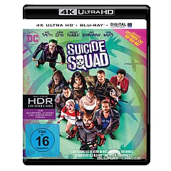 Suicide Squad (2016) 4K (4K UHD + Blu-ray + UV Copy) Blu-ray