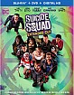 Suicide Squad (2016) - Theatrical and Extended Cut (Blu-ray + DVD + UV Copy) (US Import ohne dt. Ton) Blu-ray