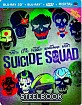 Suicide Squad (2016) 3D - Limited Edition Steelbook (Blu-ray 3D + Blu-ray + DVD + UV Copy) (FR Import) Blu-ray