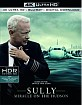 Sully (2016): Miracle on the Hudson 4K (4K UHD + Blu-ray + UV Copy) (UK Import ohne dt. Ton) Blu-ray