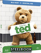 Ted (2012) - Extended Edition - Zavvi Exclusive Limited Edition Steelbook (Blu-ray + UV Copy) (UK Import ohne dt. Ton) Blu-ray