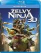 Želvy Ninja 3D (Blu-ray 3D + Blu-ray) (CZ Import ohne dt. Ton) Blu-ray
