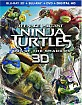 Teenage Mutant Ninja Turtles: Out of the Shadows 3D (Blu-ray 3D + Blu-ray + DVD + UV Copy) (US Import ohne dt. Ton) Blu-ray