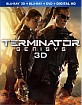 Terminator: Genisys (2015) 3D (Blu-ray 3D + Blu-ray + DVD + UV Copy) (US Import ohne dt. Ton) Blu-ray