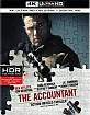 The Accountant (2016) 4K (4K UHD + Blu-ray + UV Copy) (US Import) Blu-ray