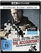 The Accountant - Berechne deine Möglichkeiten 4K (4K UHD + Blu-ray + UV Copy) Blu-ray