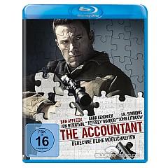 The Accountant - Berechne deine Möglichkeiten (Blu-ray + UV Copy) Blu-ray