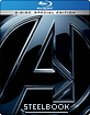 The Avengers 3D - Steelbook (Blu-ray 3D + Blu-ray) (CZ Import ohne dt. Ton) Blu-ray