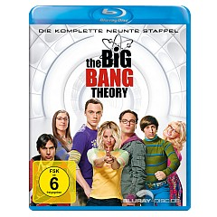 The Big Bang Theory - Die komplette neunte Staffel (Blu-ray + UV Copy) Blu-ray