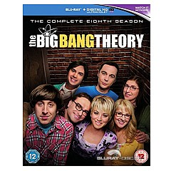 The Big Bang Theory: The Complete Eighth Season (Blu-ray + UV Copy) (UK Import ohne dt. Ton) Blu-ray