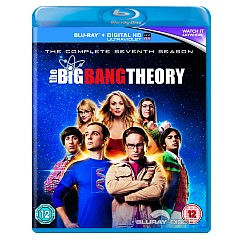 The Big Bang Theory: The Complete Seventh Season (Blu-ray + UV Copy) (UK Import ohne dt. Ton) Blu-ray