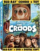 The Croods - with Plush Toy (Blu-ray + DVD + Digital Copy + UV C Blu-ray