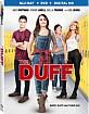 The DUFF (2015) (Blu-ray + DVD + UV Copy) (Region A - US Import ohne dt. Ton) Blu-ray
