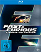 The Fast and the Furious (1-7) - The Collection Blu-ray