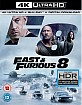 The Fate of the Furious 4K (4K UHD + Blu-ray + UV Copy) (UK Import ohne dt. Ton) Blu-ray