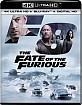 The Fate of the Furious 4K (4K UHD + Blu-ray + UV Copy) (US Import ohne dt. Ton) Blu-ray