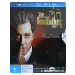 The Godfather: Part 3 - Steelcase (AU Import) Blu-ray