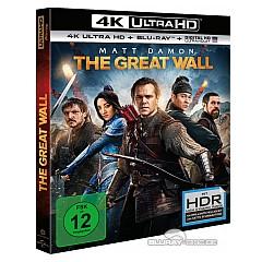 The Great Wall 4K (4K UHD + Blu-ray + UV Copy) Blu-ray