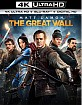The Great Wall 4K (4K UHD + Blu-ray + UV Copy) (US Import ohne dt. Ton) Blu-ray
