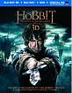 The Hobbit: The Battle of the Five Armies 3D (Blu-ray 3D + Blu-ray + DVD + UV Copy) (CA Import ohne dt. Ton) Blu-ray