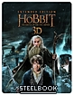 The Hobbit: The Battle of the Five Armies 3D - Extended Cut - Limited Edition Steelbook (Blu-ray 3D) (UK Import ohne dt. Ton) Blu-ray
