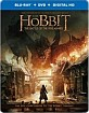 The Hobbit: The Battle of the Five Armies - Best Buy Exclusive Steelbook (Blu-ray + DVD + UV Copy) (US Import ohne dt. Ton) Blu-ray