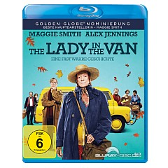 The Lady in the Van (Blu-ray + UV Copy) Blu-ray