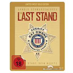 The Last Stand (2013) - Uncut Steelbook Gold Edition Blu-ray