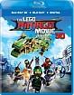 The Lego Ninjago Movie 3D (Blu-ray 3D + Blu-ray + DVD + UV Copy) (US Import ohne dt. Ton) Blu-ray