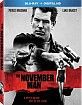 The November Man (2014) (Blu-ray + UV Copy) (Region A - US Import ohne dt. Ton) Blu-ray