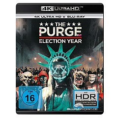 The Purge: Election Year 4K (4K UHD + Blu-ray) Blu-ray