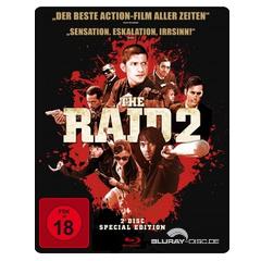 The Raid 2 (Limited Steelbook Edition) Blu-ray