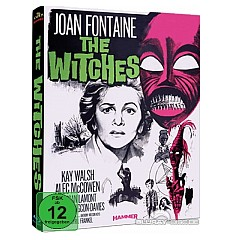 The Witches (1966) (Limited Hammer Mediabook Edition) (Cover A) Blu-ray