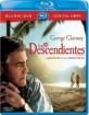 Los Descendientes (Blu-ray + DVD + Digital Copy) (MX Import) Blu-ray