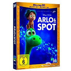 Arlo & Spot 3D (Blu-ray 3D + Blu-ray) Blu-ray
