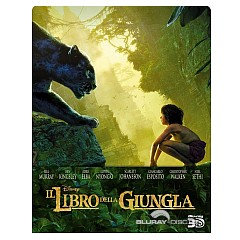 Il Libro della Giungla (2016) 3D - Steelbook (Blu-ray 3D + Blu-ray) (IT Import) Blu-ray