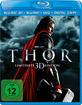 Thor (2011) 3D (Blu-ray 3D + Blu-ray + DVD + Digital Copy) Blu-ray