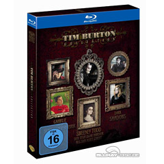 Tim Burton Collection (3-Disc Set) Blu-ray