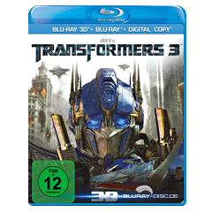 Transformers 3: Die dunkle Seite des Mondes 3D (Blu-ray 3D) Blu-ray