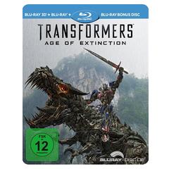 Transformers: Ära des Untergangs 3D - Limited Edition Steelbook (Blu-ray 3D + Blu-ray + Bonus Blu-ray) Blu-ray