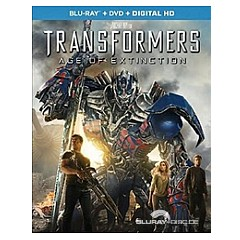 Transformers: Age of Extinction (Blu-ray + DVD + UV Copy) (US Import ohne dt. Ton) Blu-ray