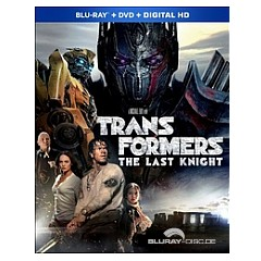 Transformers: The Last Knight (Blu-ray + DVD + UV Copy) (US Import ohne dt. Ton) Blu-ray
