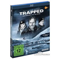 Trapped - Gefangen in Island - Die komplette 1. Staffel Blu-ray