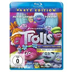 Trolls (2016) (Party Edition) Blu-ray