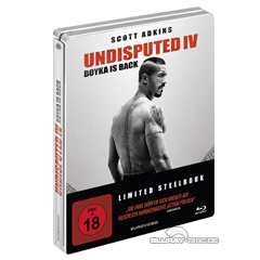 Undisputed IV - Boyka is back (Limited Steelbook Edition) Blu-ray