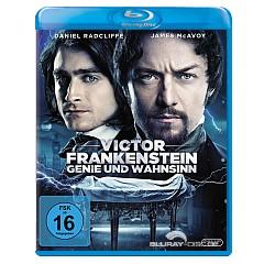Victor Frankenstein - Genie und Wahnsinn (Blu-ray + UV Copy) Blu-ray